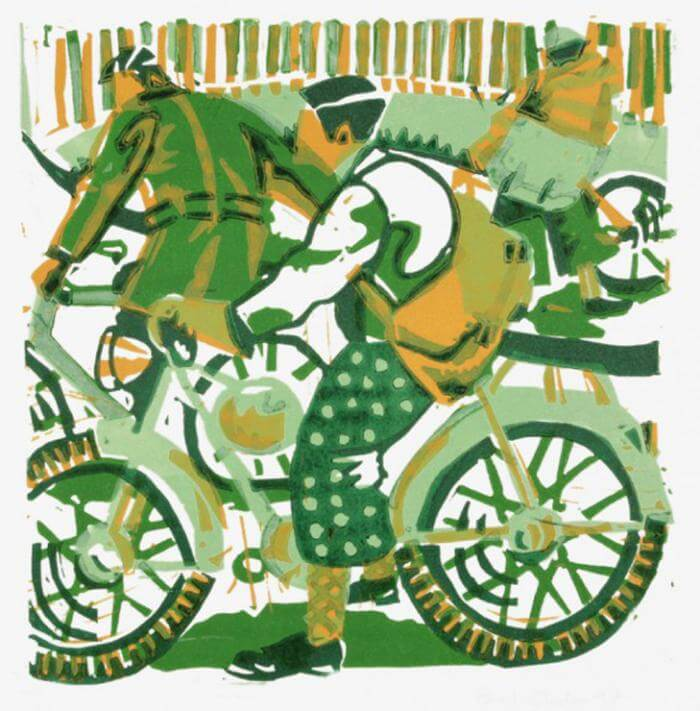 Green Bikes - Paul Cleden