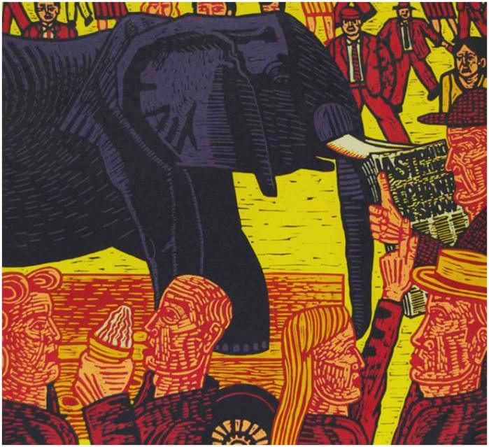 The Last Elephant - John Gledhill