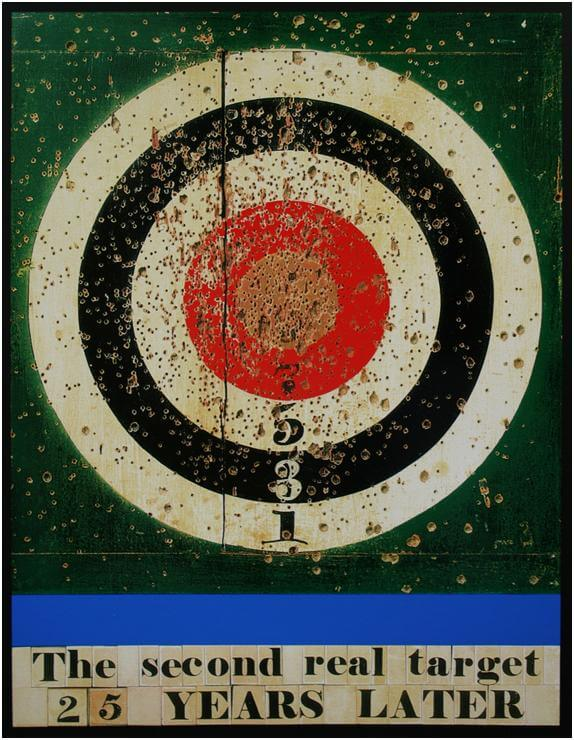Second Real Target - Peter Blake