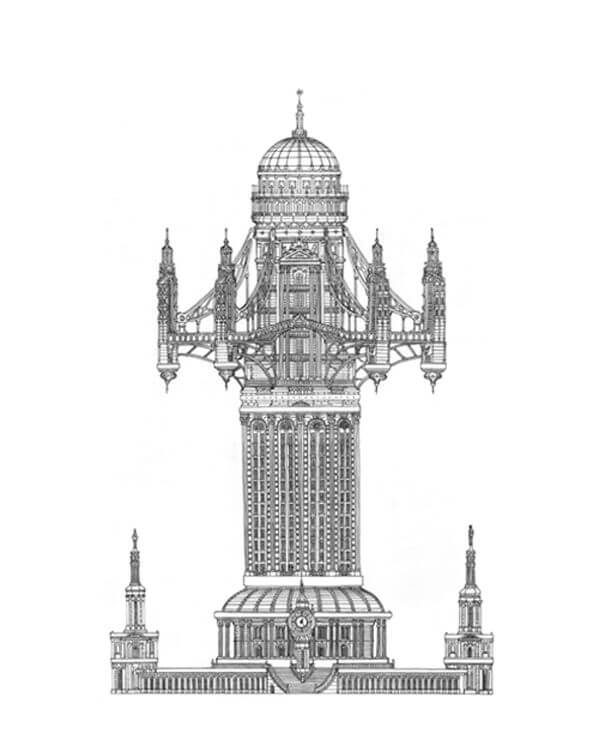 Regency Tower - Toby Melville Brown