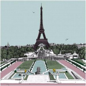 Bonjour Paris by Clare Halifax