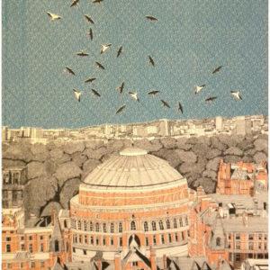 Rooftops at Royal Albert Hall - Clare Halifax