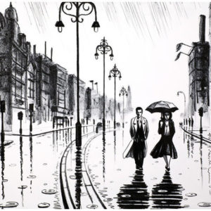 John-Duffin-London-In-The-Rain
