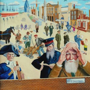 Mychael Barratt - Mile End Road Mural