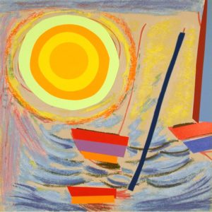 Sun and Boats - Sir Terry Frost