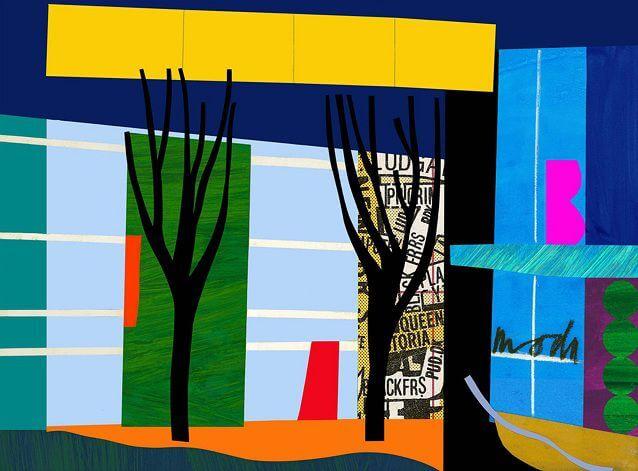 Bruce Mc Lean designer trees