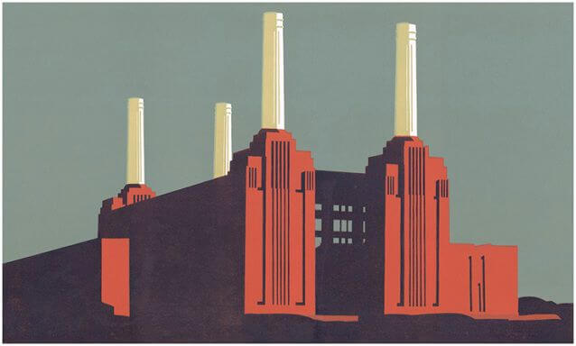 Paul Catherall Battersea Landscape II