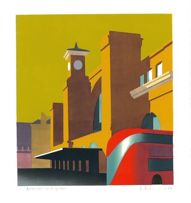 Paul Catherall Routemaster at Kings Cross
