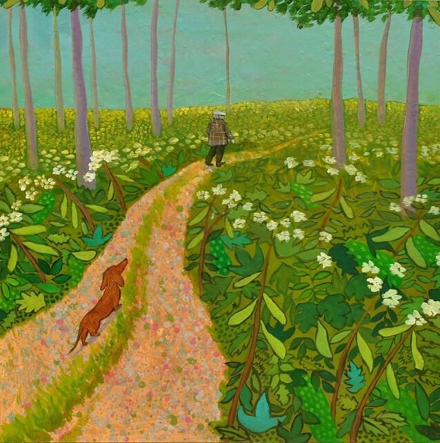 Hockney's Dog Mychael Barrat