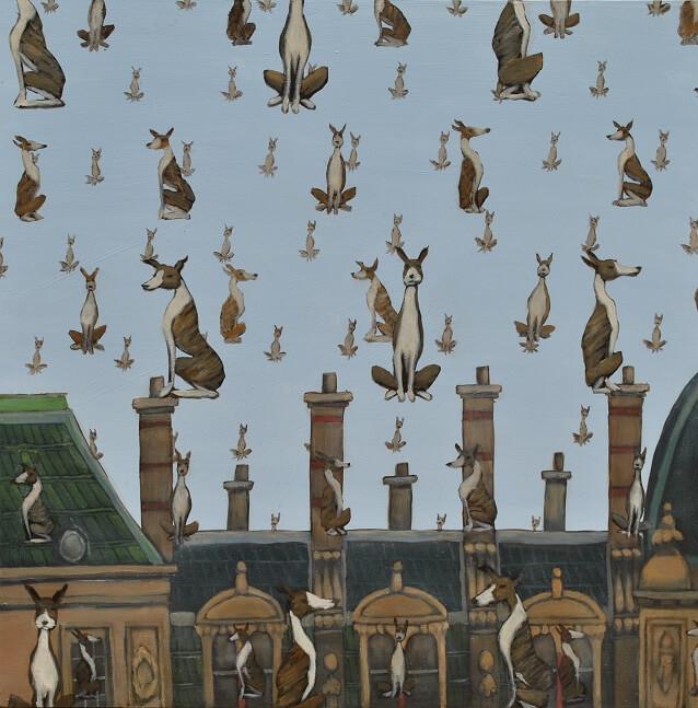 Magritte's Dogs   Mychael Barratt