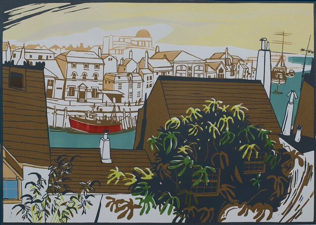 Colin Moore Printer A Fig Tree in Weymouth