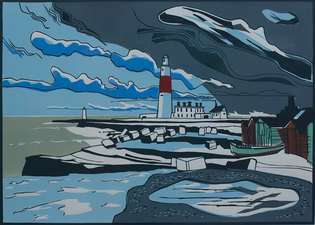 Colin Moore Printer Portland Bill